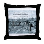 Country BGTY Prayer Throw Pillow