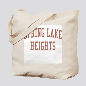 Spring Lake Heights New Jersey NJ Red Tote Bag