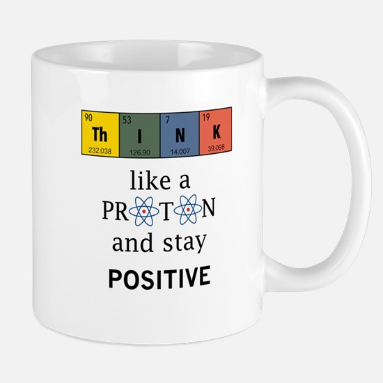 Think like a proton. Physics and chemistry shirts