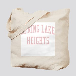 Spring Lake Heights New Jersey NJ Pink Tote Bag