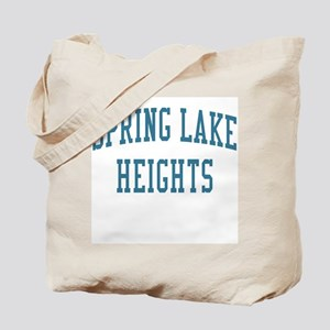Spring Lake Heights New Jersey NJ Blue Tote Bag