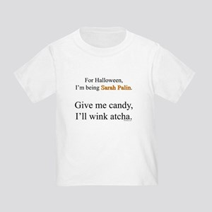 Palin Costume Toddler T-Shirt