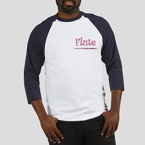 Pink Flute Baseball Jersey