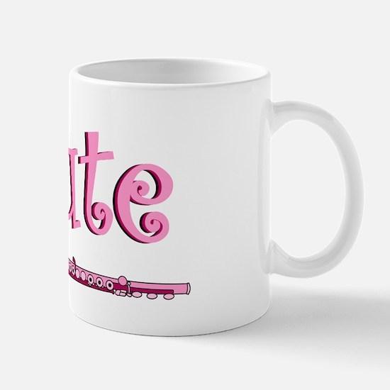 Pink Flute Mug