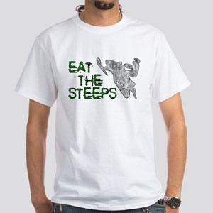 Eat The Steeps White T-Shirt