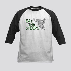 Eat The Steeps Kids Baseball Jersey