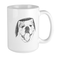 Pencil Portrait Large Mug