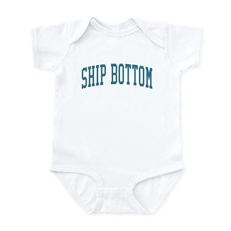 Ship Bottom New Jersey NJ Blue Infant Bodysuit