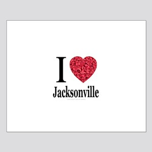 I Love Jacksonville Small Poster