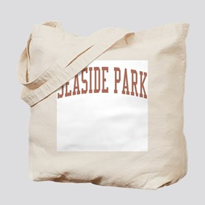 Seaside Park New Jersey NJ Red Tote Bag