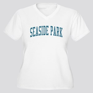Seaside Park New Jersey NJ Blue Women's Plus Size