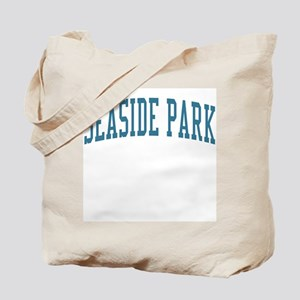 Seaside Park New Jersey NJ Blue Tote Bag