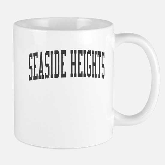 Seaside Heights New Jersey NJ Black Mug