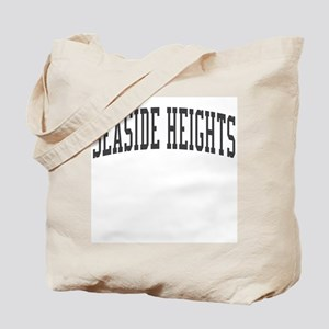 Seaside Heights New Jersey NJ Black Tote Bag