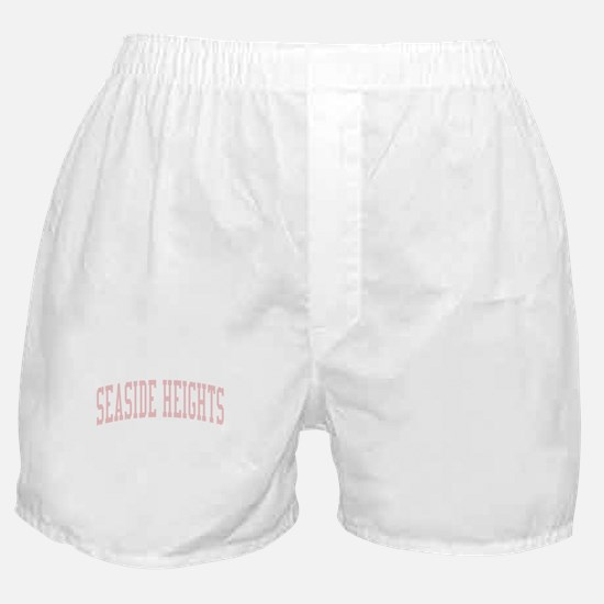Seaside Heights New Jersey NJ Pink Boxer Shorts