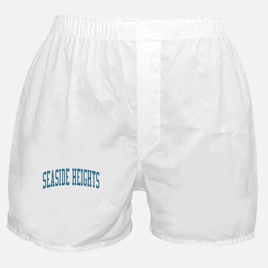 Seaside Heights New Jersey NJ Blue Boxer Shorts