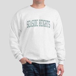 Seaside Heights New Jersey NJ Green Sweatshirt