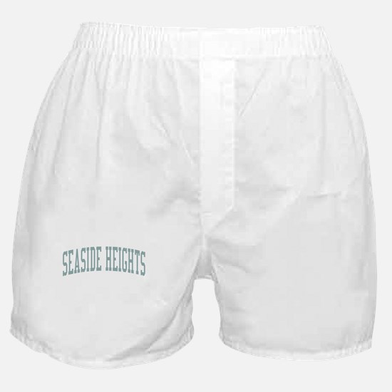 Seaside Heights New Jersey NJ Green Boxer Shorts
