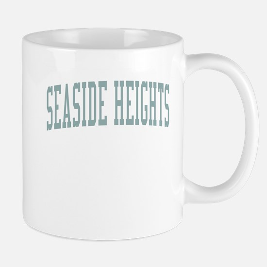 Seaside Heights New Jersey NJ Green Mug
