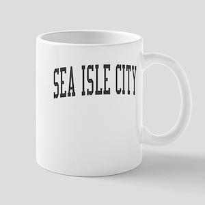 Sea Isle City New Jersey NJ Black Mug