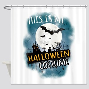 Halloween Costumes Ideas Decoration Shower Curtain