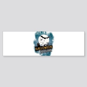 Halloween Costumes Ideas Decoration Bumper Sticker