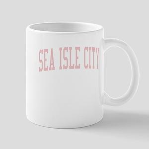 Sea Isle City New Jersey NJ Pink Mug