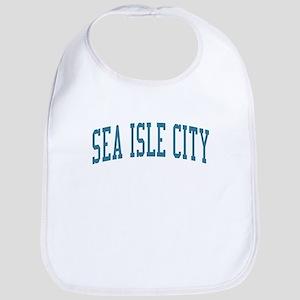 Sea Isle City New Jersey NJ Blue Bib