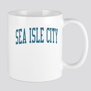Sea Isle City New Jersey NJ Blue Mug