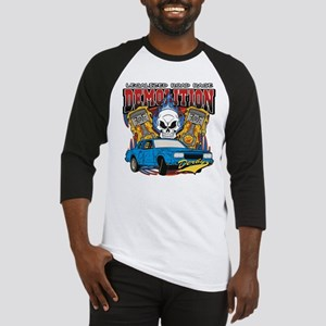 Demolition Derby Baseball Jersey