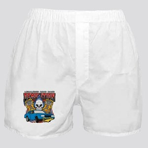 Demolition Derby Boxer Shorts