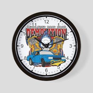 Demolition Derby Wall Clock