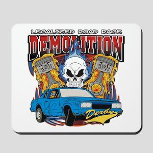 Demolition Derby Mousepad