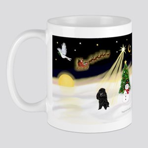 Night Flight/Poodle (Min) Mug