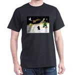 Night Flight/Poodle (Min) Dark T-Shirt