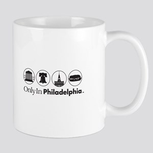 Only In Philadelphia - Icons Mug