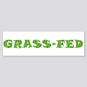 Grass-Fed Bumper Sticker