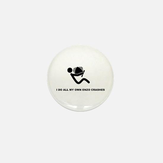 I do my own Enzo crashes - Mini Button