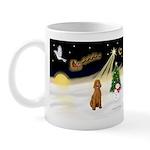 Night Flight/Poodle Std Mug