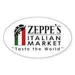 Zeppe's Italian Market Sticker (Oval)