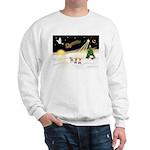 Night Flight/3 Chihuahuas Sweatshirt