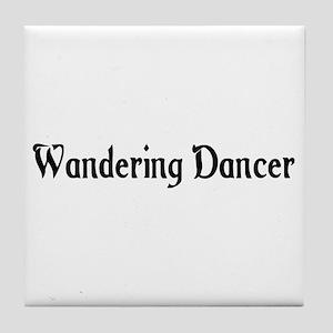 Wandering Dancer Tile Coaster