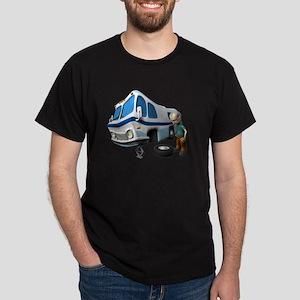 RV Flat Tire Dark T-Shirt