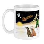 Night Flight/2 Greyhounds Mug