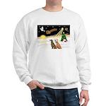Night Flight/2 Greyhounds Sweatshirt