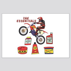 The Dirtbike Essentials Large Poster