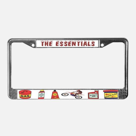 The Dirtbike Essentials License Plate Frame