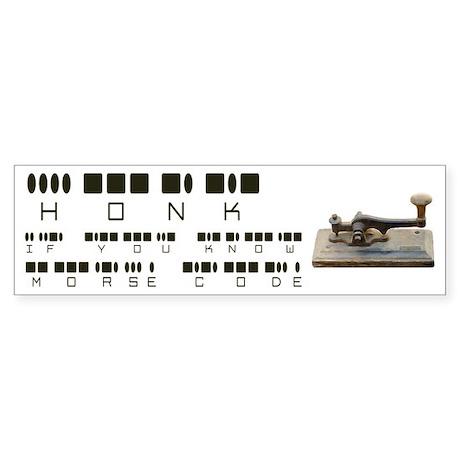 Honk Morse Code