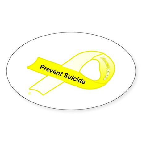 Prevent Oval Sticker