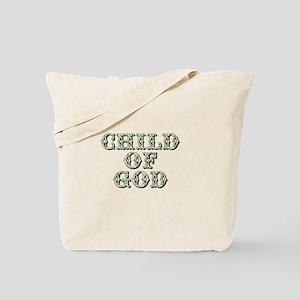 Child of God - Green Tote Bag